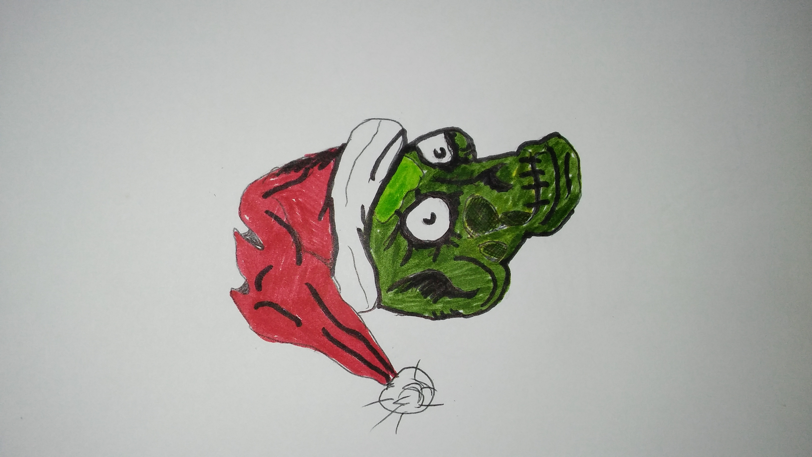 Holly jolly corpse