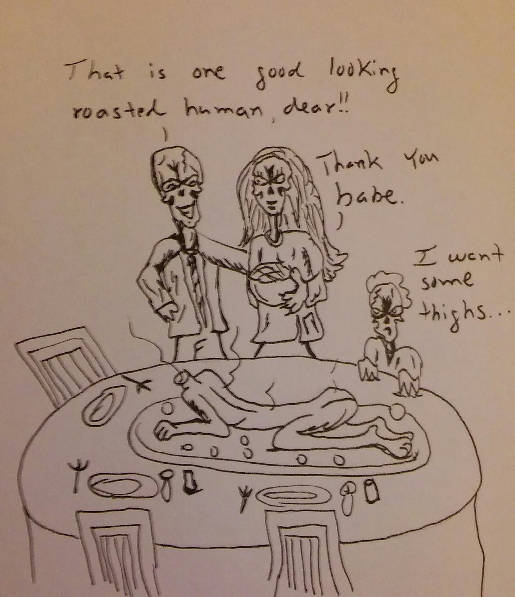 Thanksgivin eatin