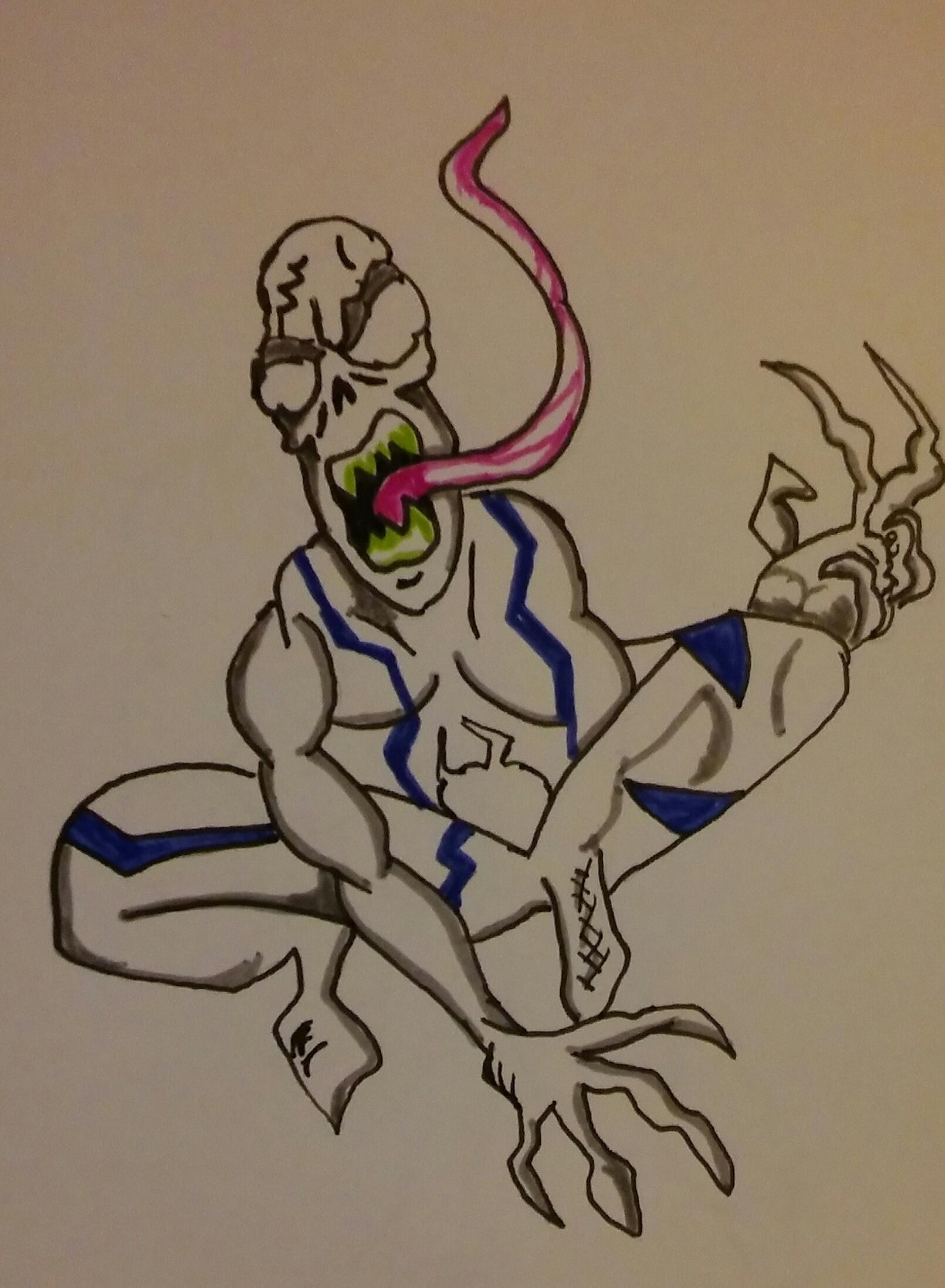 Venom corpse