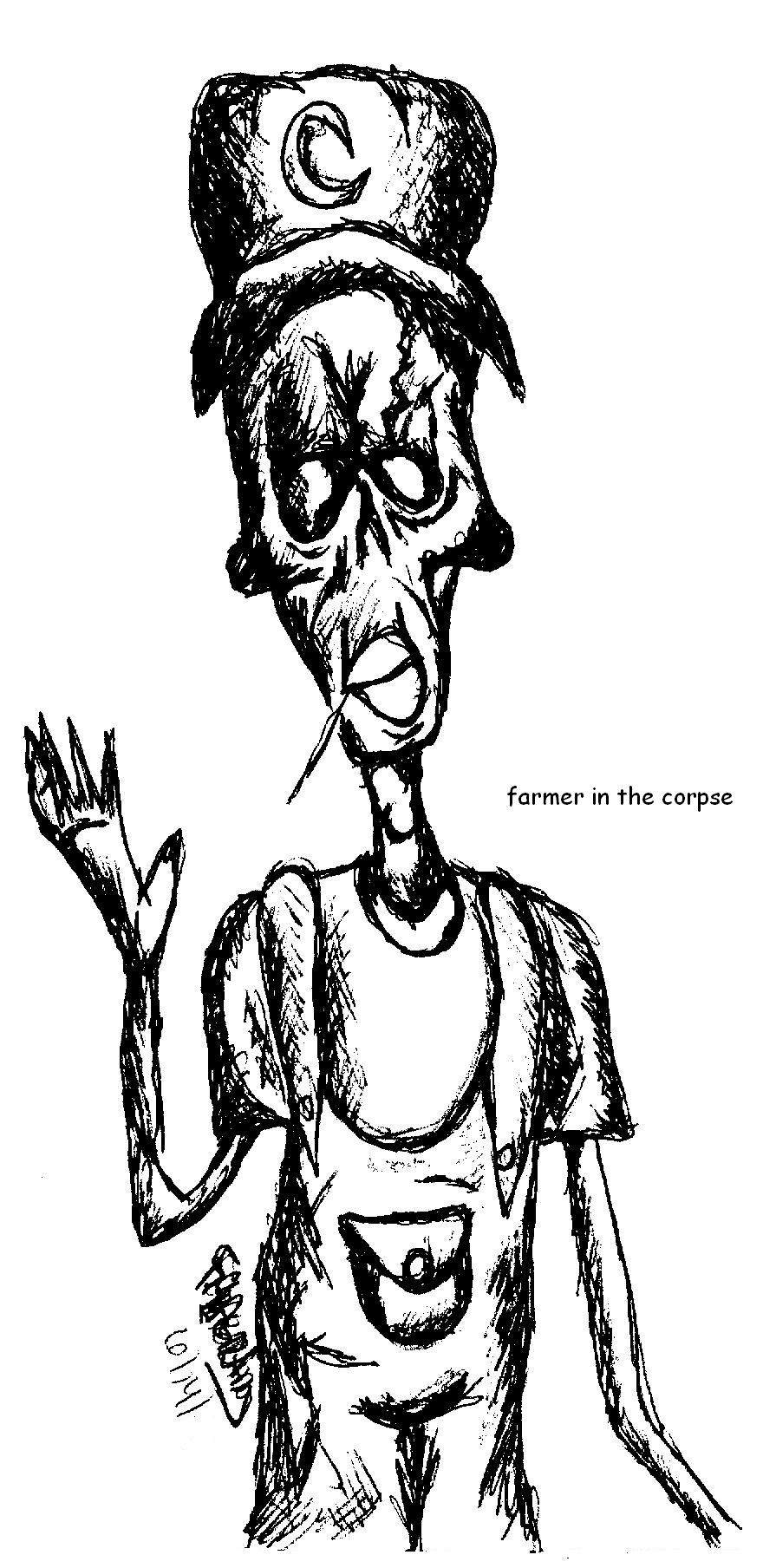 farmer in the corpse